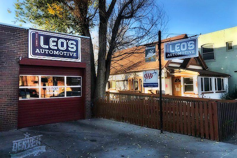 leo's automotive signage