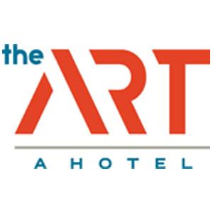 the art, a hotel logo