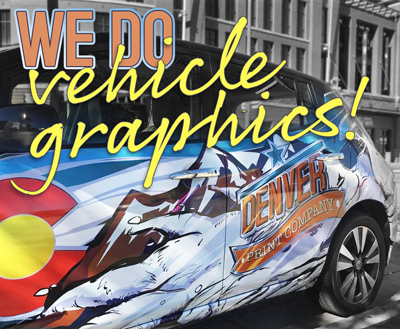 we do vehicle graphics in denver