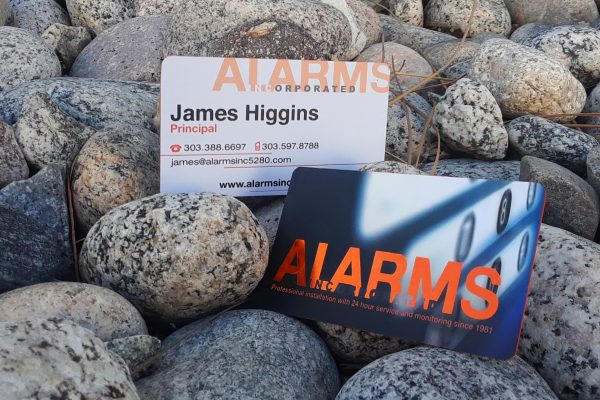 alarms inc cards