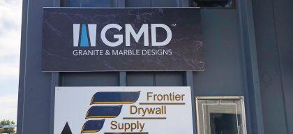 GMD custom sign