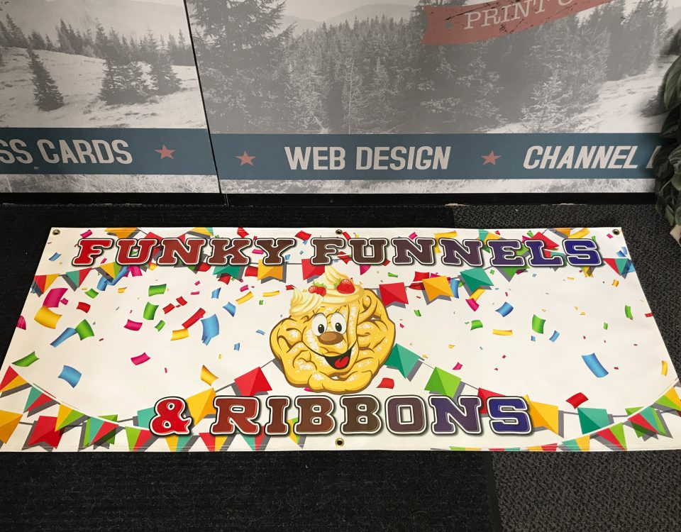 funky funnels banner