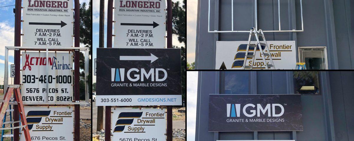 gmd sign installation