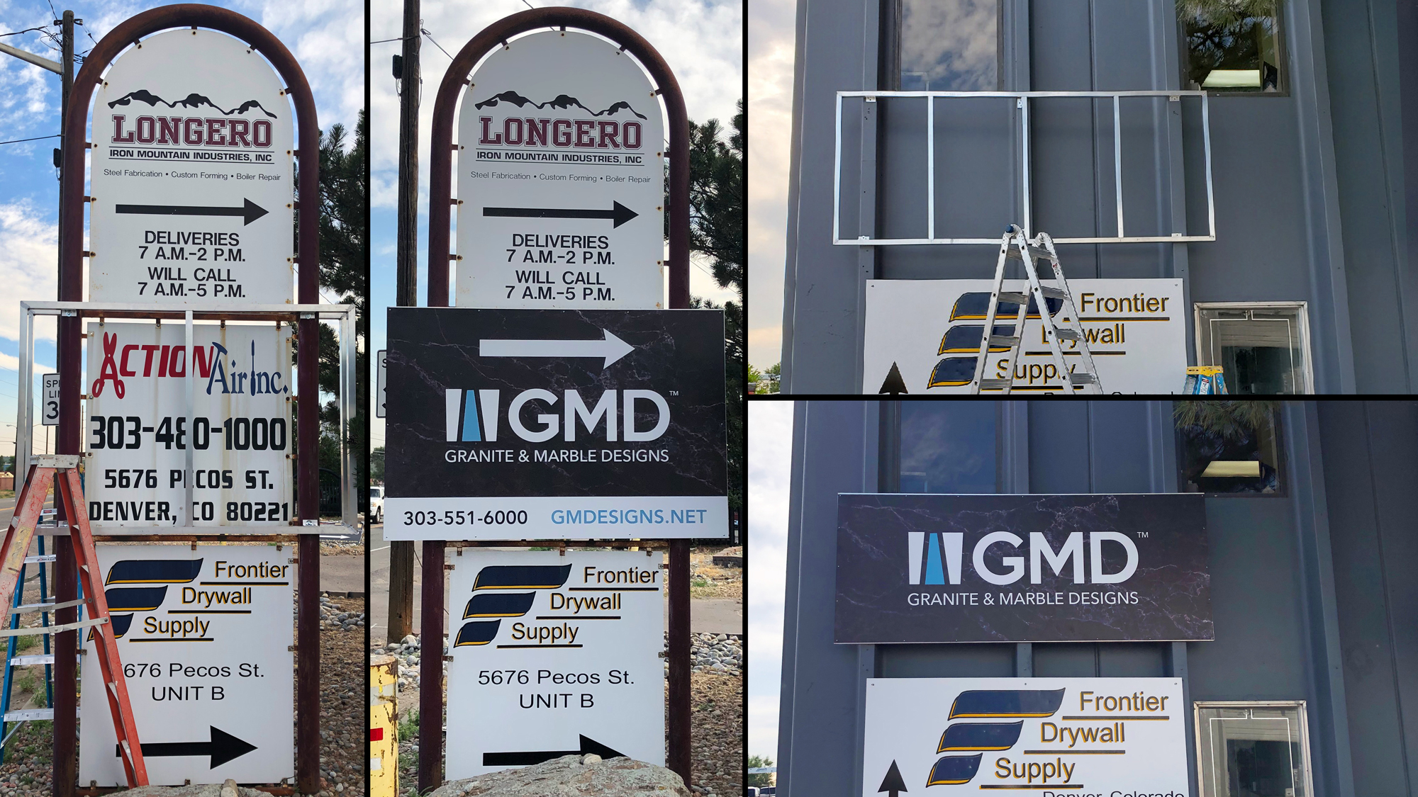 gmd sign installation