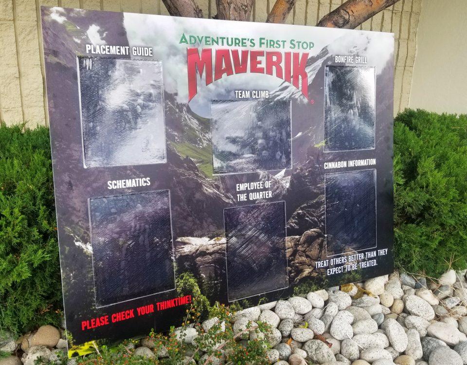 maverik communication board