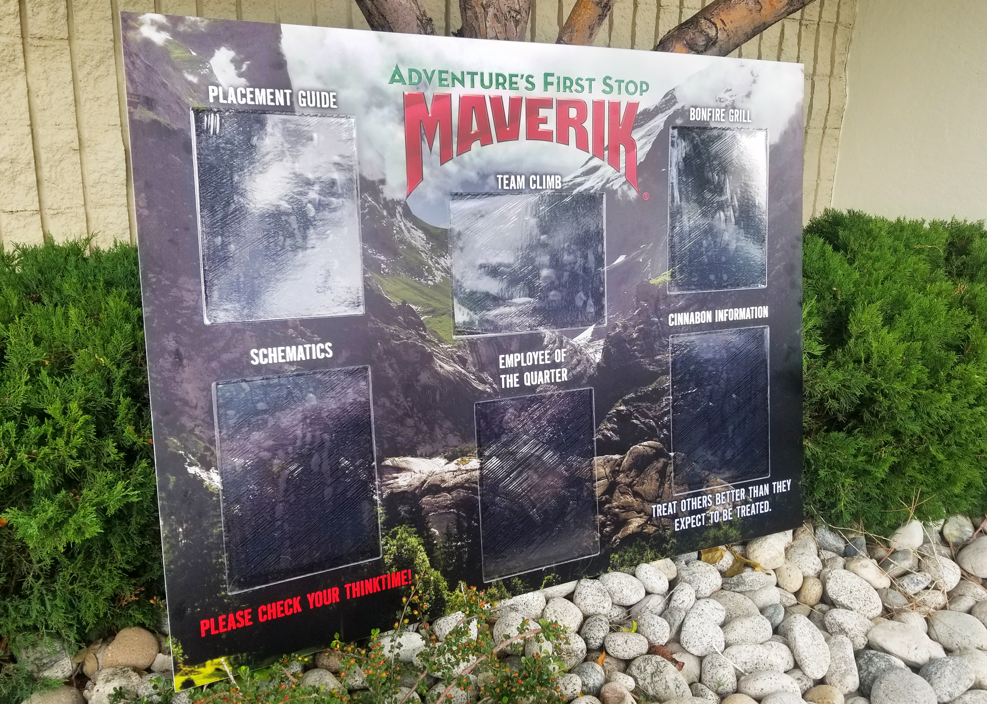 maverik communication board