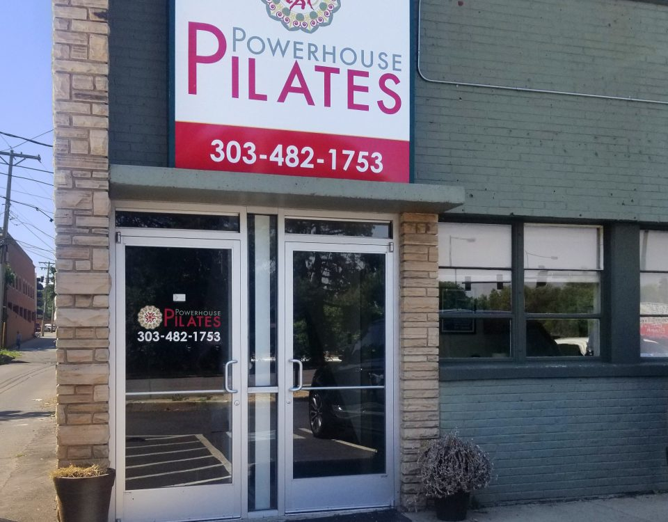 powerhouse pilates sign