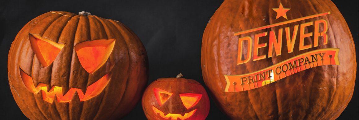 denver print company halloween jack-o-lantern