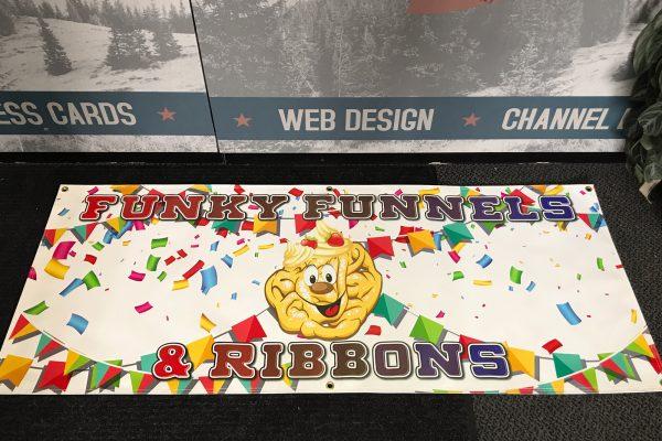 funnel cake banner