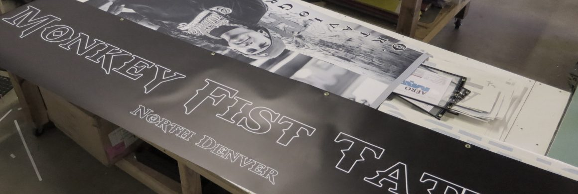 banners for monkey fist tattoo shop