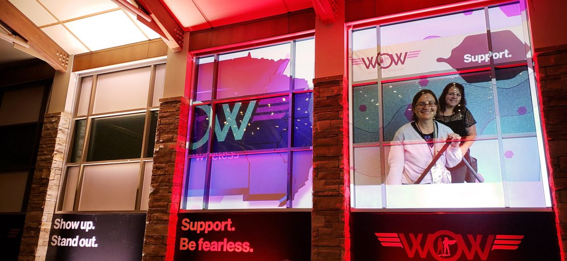 women of wireless wall and window graphics
