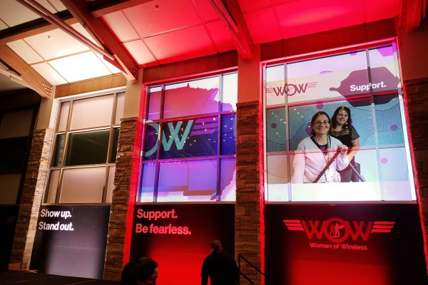 women of wireless wall and window graphics