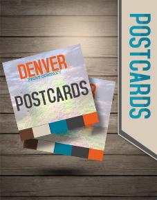 postcard printing in denver