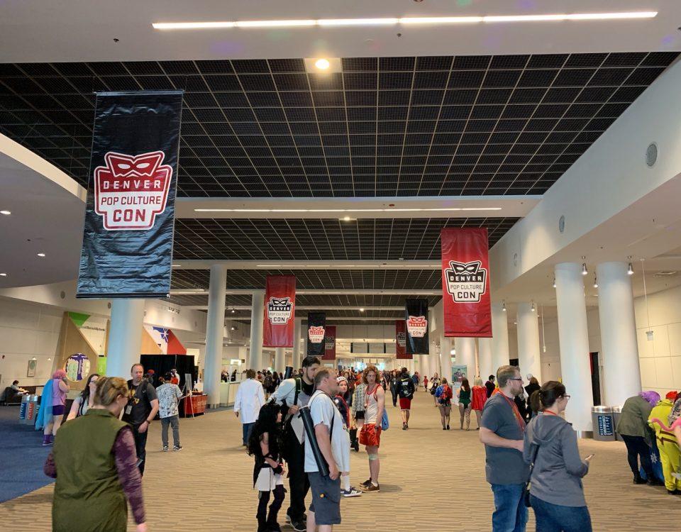 denver pop culture con banners