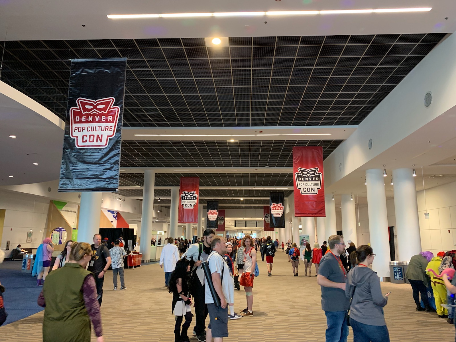 denver pop culture con banners