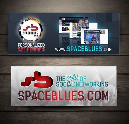 space blues banners