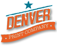 denver print company with snow on it