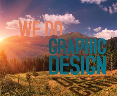 we do graphic design