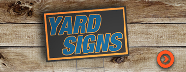 yard signs from denver print company - get a quote