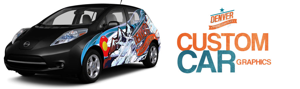 Custom Car Graphics Denver